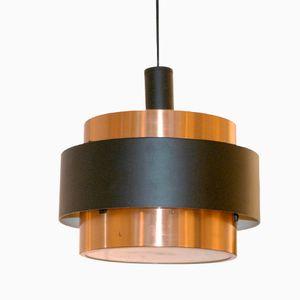 Saturn Copper Pendant Lamp by Jo Hammerborg for Fog & Morup, 1960s
