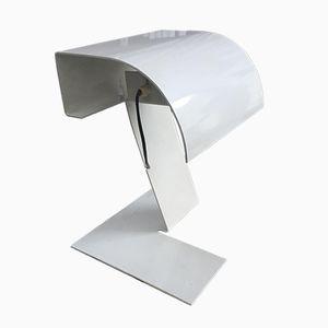 Weiße Tischlampe von Stilnovo