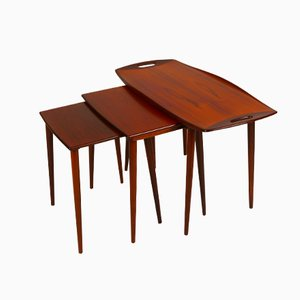 Nesting Tables by Jens Quistgaard, Set of 3