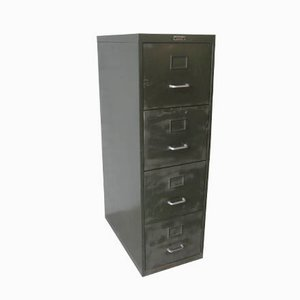 French Industrial Filing Cabinet from Marcel Veyrier Lille