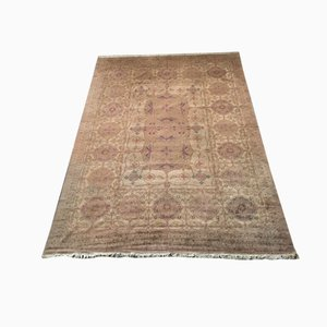 Art Nouveau Hand Knotted Carpet with Floral Design