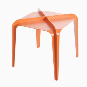 Orange Hafucha X Table by Bakery Studio