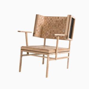 Sedia Soft in quercia di Pepe Heykoop