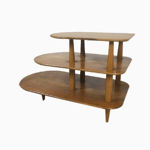 Modernist Wooden Etagere, 1960s