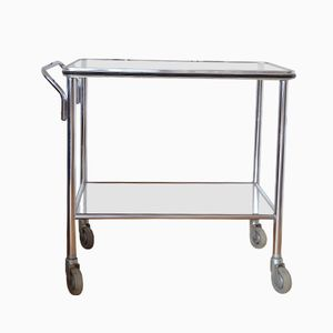 Industrial Steel Serving Trolley from ADMI, 1940s