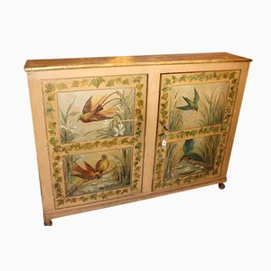 Decorative French Hand Painted Buffet, 1860