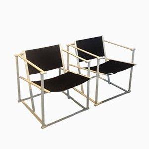 Niederländische MF 60 Stühle von Radboud van Beekum für Pastoe, 1960er, 2er Set