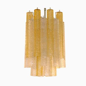 Tronchi Chandelier by Toni Zuccheri for Venini, 1950s