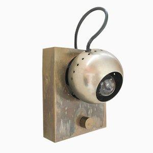 Lampada da parete Eye di Angelo Lelli per Arredoluce, 1963
