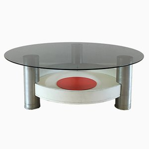 Vintage Industrial Space Age Coffee Table