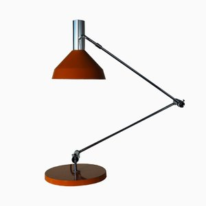 Orange Type 60 T Desk Lamp by Rico & Rosemarie Baltensweiler, 1960
