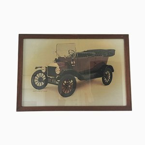 Vintage Ford Austellungs Poster von Waterlow London