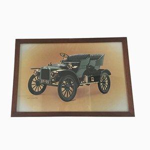 Affiche de Showroom Ford Vintage Encadrée de Waterlow London