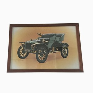 Gerahmtes Vintage Ford Poster von Waterlow London