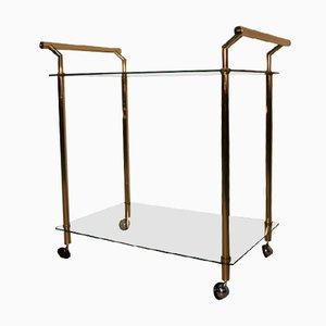 franz sischer messing glas servierwagen bei pamono kaufen. Black Bedroom Furniture Sets. Home Design Ideas