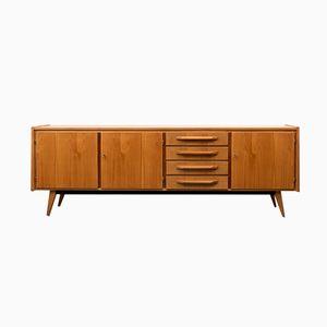 brauner mid century schaukelstuhl 1960er bei pamono kaufen. Black Bedroom Furniture Sets. Home Design Ideas