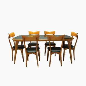 Italian Dining Set by Ico Parisi for Colombo Cantú, 1945