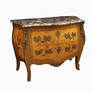 Antique French Rosewood and Mahogany Commode