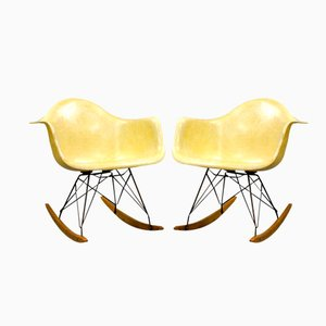 First Edition RAR Chairs by Charles and Ray Eames for Zenith Plastics, Set of 2