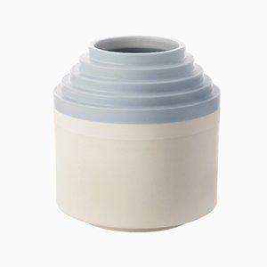 Niedrige Vase von Ettore Sottsass für Bitossi