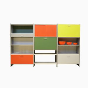 Multicolored 5600 Series Cabinet from Gispen