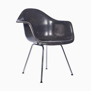 Black Fiberglass Armchair by Charles & Ray Eames