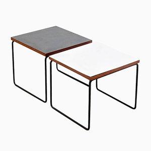 Tavolini di Pierre Guariche per Steiner, anni '50, set di 2