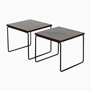 Table d'Appoint par Pierre Guariche pour Steiner, France, 1950s, Set de 2