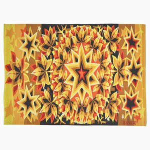 Arazzo Constellation di J.C. Bissery, 1977
