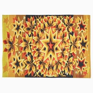 Tapisserie Murale Constellation par J.C. Bissery, 1977