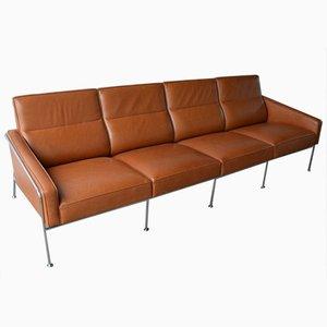 Modell 3304 Lufthavnssofa Sofa von Arne Jacobsen für Fritz Hansen