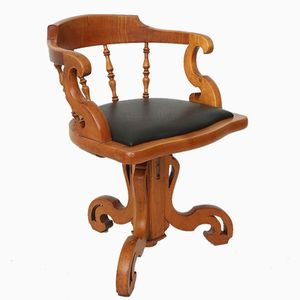 Antique Cherry Armchair, 1860s