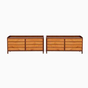 Belgian Art Deco Sideboards, Set of 2