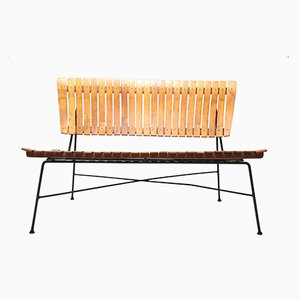 Slatted Bench by Arthur Umanoff, 1955