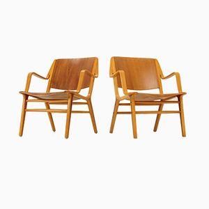 Ax Stuhl von Peter Hvidt & Orla Mølgaard-Nielsen für Fritz Hansen, 1950er