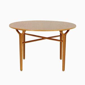 Ax Tisch von Peter Hvidt & Orla Mølgaard-Nielsen für Fritz Hansen, 1950er
