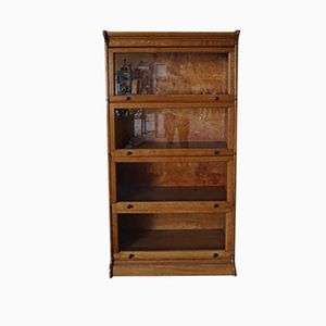 Vintage Display Bookcase, 1920s