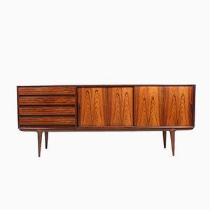 Mid-Century Rosewood Sideboard from Oman Jun Mobelfabrik, 1950s