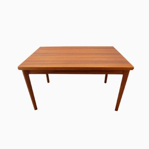 Danish Teak Dining Table with Two Extension Leaves, 1970s