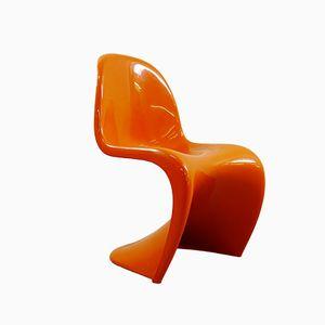 Orangefarbener Panton Chair von Verner Panton für Herman Miller/Fehlbaum, 1970er