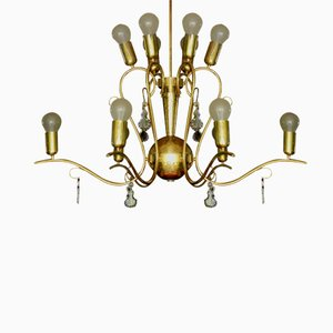 Large Art Deco Austrian Chandelier