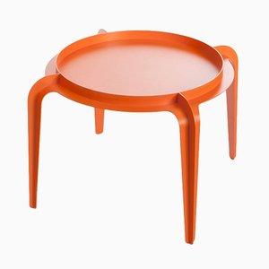 Tavolino rotondo Hafucha arancione di Bakery Studio