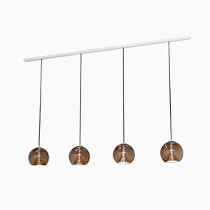 Dutch Globe Ceiling Light with Four Pendants from Raak