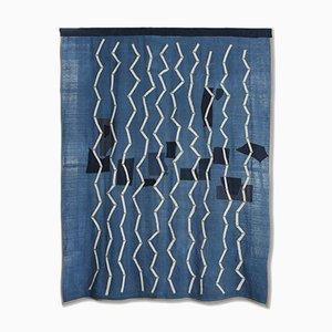 Pacific Zigzag Wandteppich von Sam Bazeley