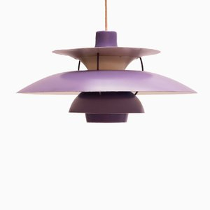 Lavender PH5 Pendant by Poul Henningsen for Louis Poulsen, 1958