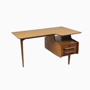 Three-Legged Freeform Desk by Jacques Hauville for Bema, 1947