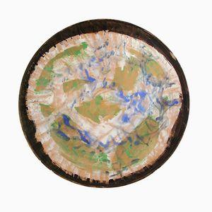Ceramic Plate by Sandro Cherchi, 1957