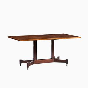 Vintage Rosewood Dining Table by Claudio Salocchi