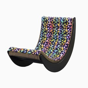Vintage Relaxer Rocking Chair by Verner Panton for Rosenthal