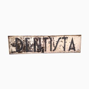 Vintage Industrial Dentist Wall Sign
